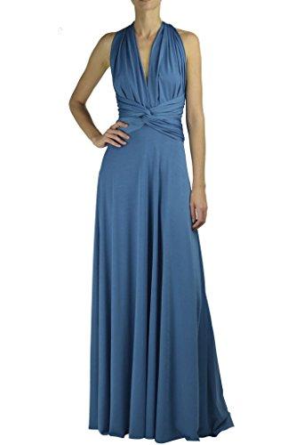 Buy dusty teal dress - 1