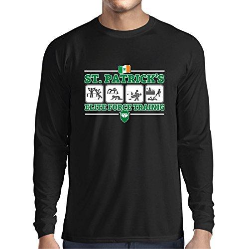 c5820924d lepni.me Long Sleeve t Shirt Men St. Patrick's Elite Force, St Patty's