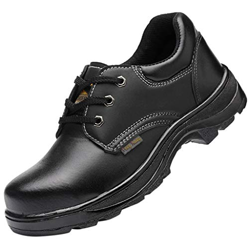 Answerl Men/Women Couple Titan Safety Toe Oxford Stockdale Oxford Alloy Toe Waterproof Industrial Construction Shoe - Oxford Titan Mens