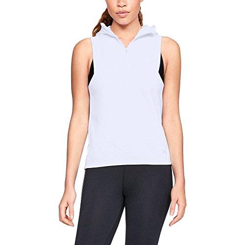 Fleece Vest Armour Under - Under Armour Women's Synthetic Fleece Vest, White (100)/Tonal, Small