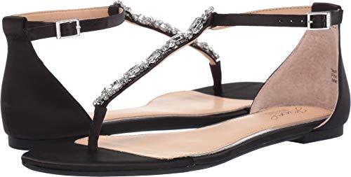 (Jewel Badgley Mischka Women's Carol Dress Sandal, Black, 7 M)