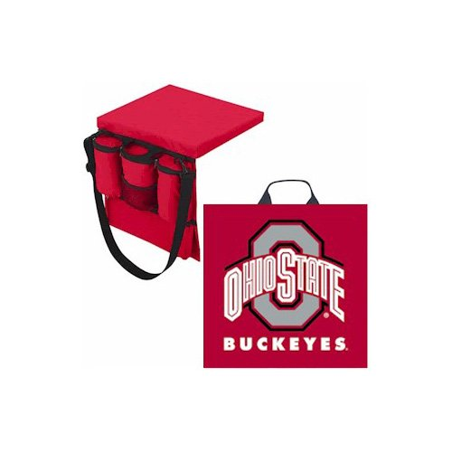 Ohio State Buckeyes Seat Cushion - NCAA Ohio State Buckeyes Seat Cushion/Tote