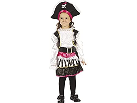 DISONIL Disfraz Pirata Chica Bebé Talla S: Amazon.es: Juguetes y ...
