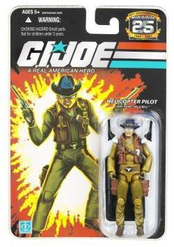 (G.I. Joe 25th Anniversary: Wild Bill (Helicopter Pilot) 3-3/4 Inch Action Figure)