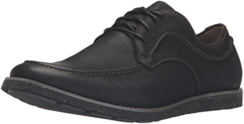Hush Puppies Men's Hade Jester Oxford, Black Leather, 11.5 M US (Jester Shoes)