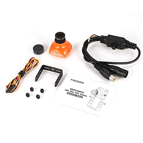 Wikiwand Foxeer XAT600M 600TVL CCD Mini FPV Camera 2.8mm Lens for DIY RC Racing Drone by Wikiwand (Image #3)