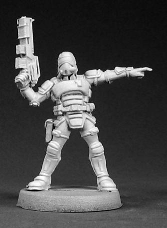 Amazon.com: Reaper Miniatures 50005 Nova Sargento de ...