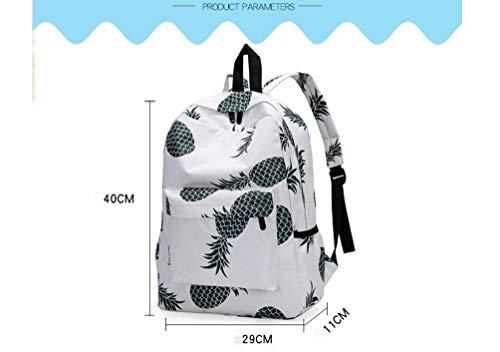 Camping Backpack Travel Color Mens School Bag Flower Popoti Outdoor F Backpacks Hiking Teenager Women Unisex Backpack for F School Color Backpack Canvas Backpack Pineapple Daypack Nylon FwBRwq01p