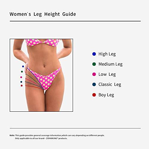 568157ee248 CENG MAU Women s High Waisted Bikini Bottoms Brazilian Cheeky Cut Out Bow  Ruched Tankini Panties(BK