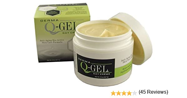 Derma Q-Gel cream with ubiquinol active coq10: Amazon.es: Salud y ...