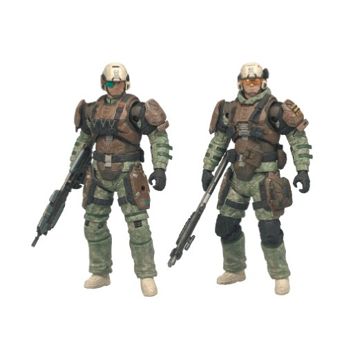 - McFarlane Toys Halo Reach Series 1 UNSC Trooper 2 Pack