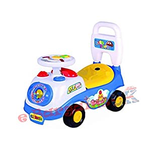My First Ride On and Push Along Car First Steps Walker Learning Toy