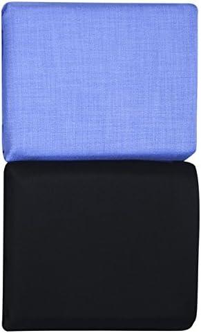 KUNDAN SULZ GWALIOR Men's Combo of Shirt & Trouser Fabric Set (Navy Blue/Sky Blue)