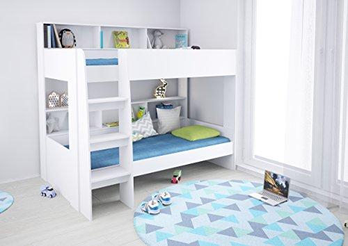 Etagenbett Klappbar Preis : Polini kids hochbett jugendbett kinderbett etagenbett weiß