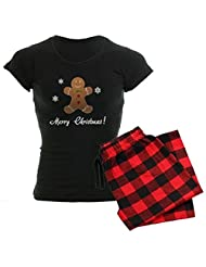 CafePress Women's Dark Pajamas - Merry Christmas Women's Dark Pajamas