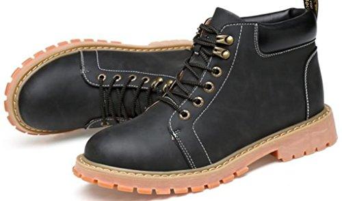 Trekking Road Footwear LINYI Sport Outillage Bottes Black Taille Martin Nordic De Grande Chaussures Hommes 7TqAzw7xp