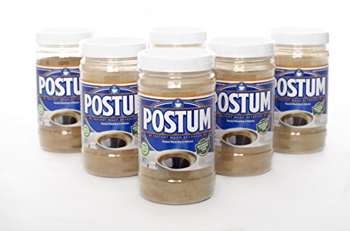 Postum 8 Oz. Roasted Wheat-Bran & Molasses Instant Warm Beverage, Pack of 6 by Postum
