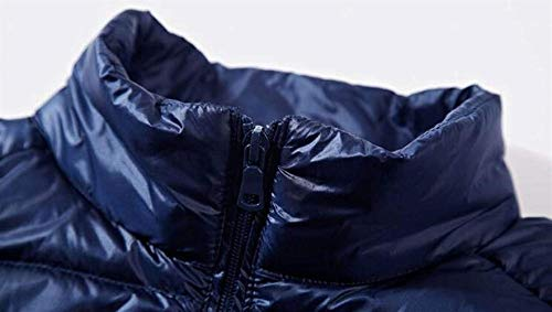 Capispalla Capispalla Capispalla di Maniche Winter Gilet Tela Rider Man Jacket Blue2 Blue2 Blue2 Blue2 Senza Senza Cerniera Senza Top Warm Casual Maniche Moderna con Maniche UvqzWnd