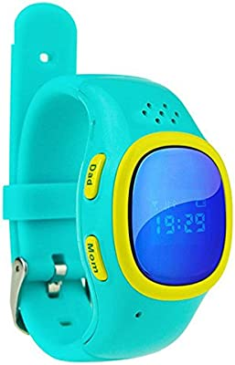 Kids Smartwatch, MindKoo Wearable Bluetooth 520 Children Anti-Lost Pedtometer GPS SOS Position Waterproof WiFi with SIM Multifunction GPS Tracker ...
