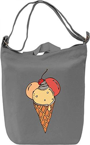 Fresh Ice Cream Borsa Giornaliera Canvas Canvas Day Bag  100% Premium Cotton Canvas  DTG Printing 