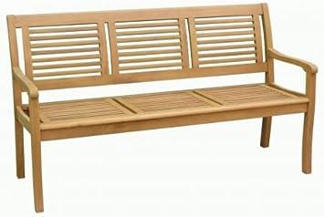 Hagebau 3 Sitzer Gartenbank Paolo Teakoptik Amazon De Garten