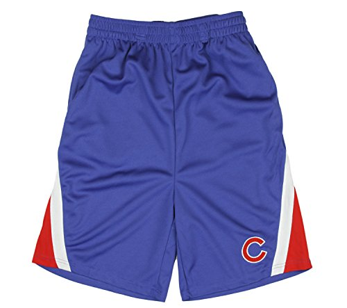 Outerstuff Chicago Cubs MLB Little Boys and Big Boys Shorts - Blue/Red (2XL ()