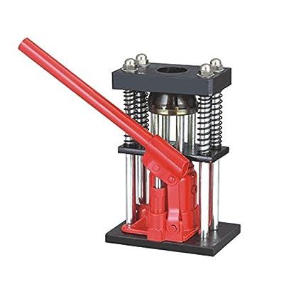 USA 6 Tons Manual Hydraulic Hose Crimper Benchtop Bottle Jack Press Crimp Size range:(13-26 mm)