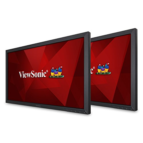 Dual Head Display - ViewSonic VA2252SM_H2 22 Inch Dual Pack Head-Only 1080p LED Monitors with DisplayPort DVI and VGA
