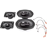 2001-2005 Pontiac Grand Am Complete Factory Replacement Speaker Package by Skar Audio