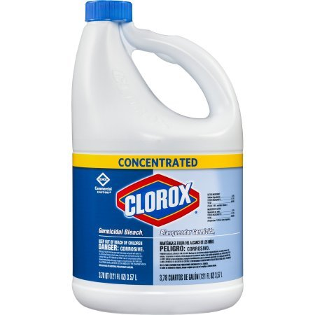 Clorox 30966 Concentrated Regular Bleach, 121 Oz. | Pack of 2
