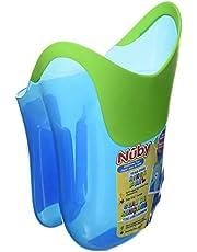 Nuby Tear Free Rinse Pail, Blue/green