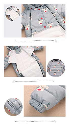 Dark Warm Snowsuit 3 Fairy Girl Pieces Romper Baby Winter Snuggly Boy Jumpsuit Baby Blue Romper xfqnqOwzZ
