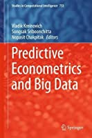 Predictive Econometrics and Big Data Front Cover