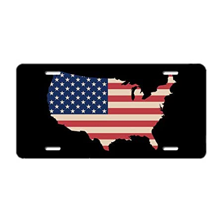 Tobe Yours License Plate Cover American Flag Vintage Michigan The Great Lakes State Printed Auto Truck Car Front Tag Metal License Plate Frame Cover 6x12