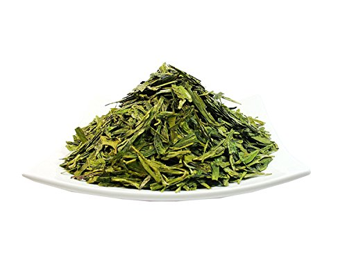 Organic Dragon Well, a classic Chinese Green tea distinguished by its color, shape and taste- 4 OZ Bag - Organic Dragon Well