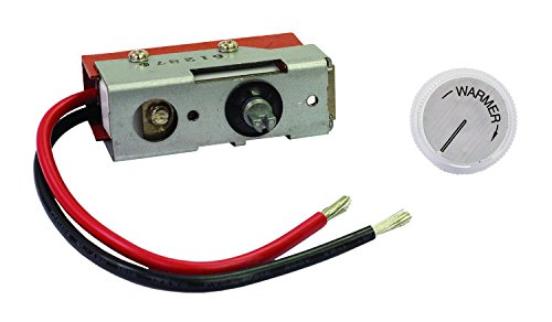 TPI 43T Single Pole Thermostat for Series 4300 Low Profile Fan Forced Wall - Pole Fan Single Forced