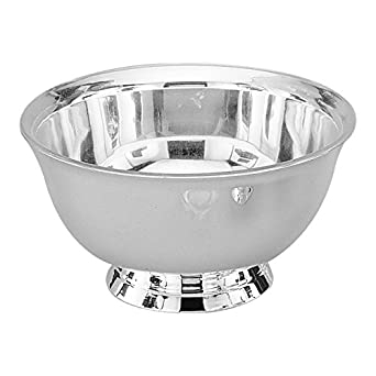 """Elegance Silver 82578 Silver Plated Revere Bowl with Liner, 8"""""""