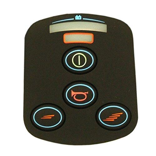4 button keypad replacement for Wheelchair Joysticks - Fits VSI joysticks