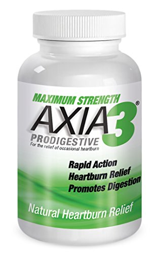 Axia Essentials  Axia3  ProDigestive Natural Heartburn Relief, 90 count