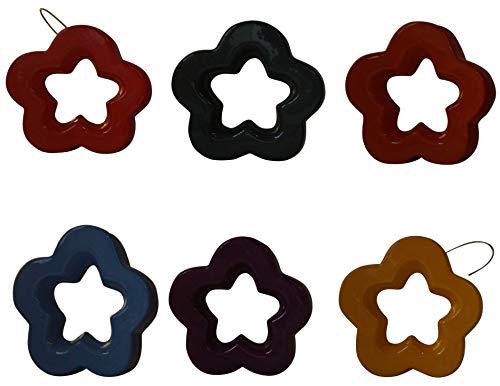 (Evviva: Radiators Humidifier, Star Multicolor Design (Pack of 6))