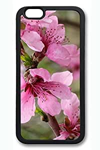iPhone 6 Plus Case - Pink Flower 2 Soft Cell Phone Cover Case for 5.5 Inch iPhone 6 Plus