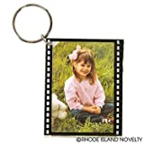 (12) Hollywood Photo Frame Keychains