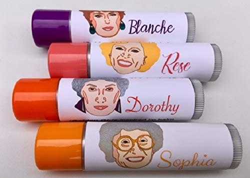 Golden Girls-inspired Lip Balm gift set by Aromaholic
