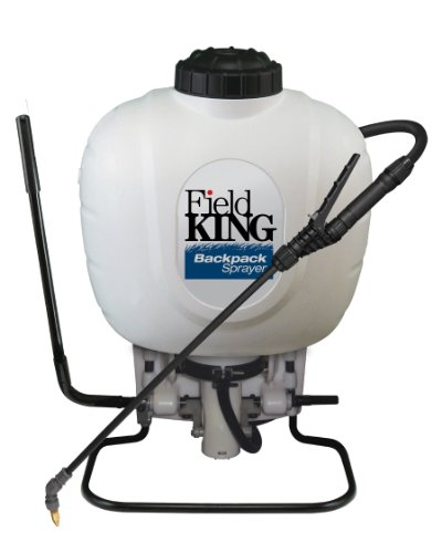 - Field King 190350 Backpack Sprayer for Weed Control