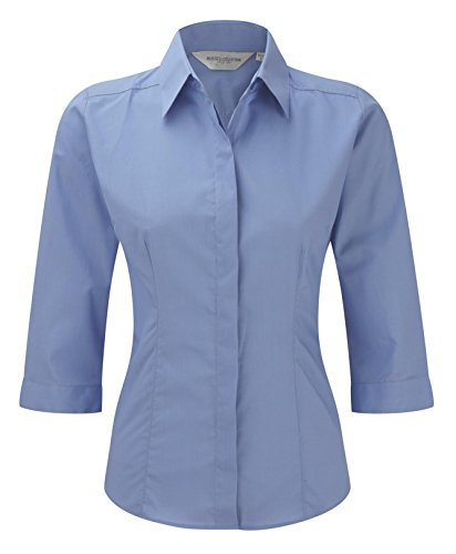 Russell Collection - Camisas - para mujer Corporate Blue