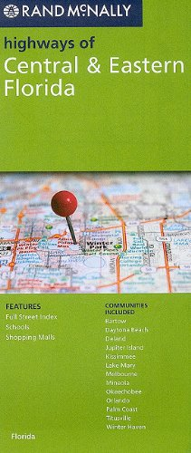 Rand McNally Highways of Central & Eastern Florida PDF