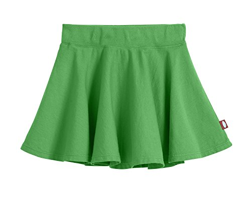 City Threads Little Girls' Cotton Twirly Skirt Perfect for Sensitive Skin/SPD/Sensory Friendly for School Or Play Fall/Spring, Elf, Size 2T]()