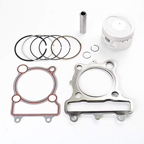 NICHE Standard Bore Piston Gasket Ring Kit for Yamaha Bear Tracker 250 - Big Bear Piston