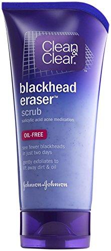 Clean & Clear Blackhead Clearing Scrub, Salicylic Acid Acne Medication 5 oz (141 g)