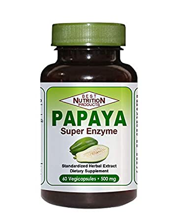 Amazon.com: Papaya Super enzima (ayuda digestiva): Health ...
